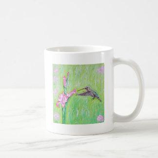 Hummingbird and Gladioli Coffee Mug