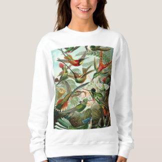 Hummingbird Antique Print Sweatshirt