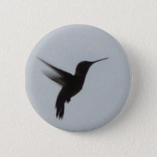 Hummingbird At Dusk 2 Inch Round Button