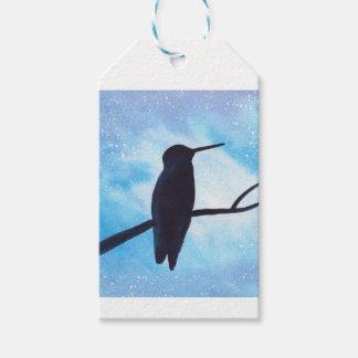 Hummingbird At Night Gift Tags