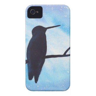 Hummingbird At Night iPhone 4 Cover