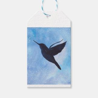 Hummingbird At Night Pack Of Gift Tags