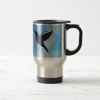 Hummingbird At Night Travel Mug