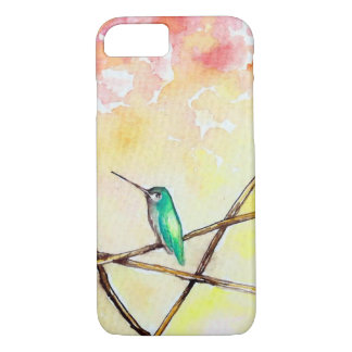 Hummingbird at Sunset iPhone 8/7 Case