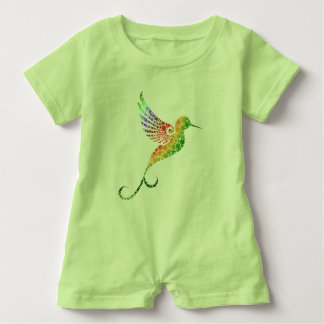 Hummingbird Baby Romper