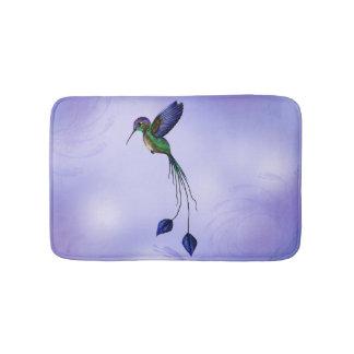 Hummingbird Bathroom Mat