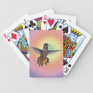 HUMMINGBIRD BICYCLE PLAYING CARDS