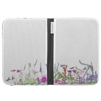 Hummingbird Bird Flowers Wildlife Floral Animals Kindle Folio Case