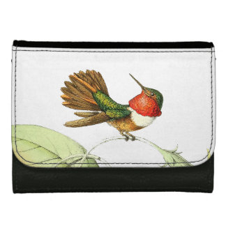Hummingbird Bird Wildlife Animals Wallet