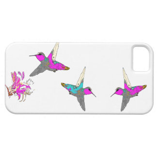 Hummingbird Bird Wildlife Flowers Animal Floral Case For The iPhone 5