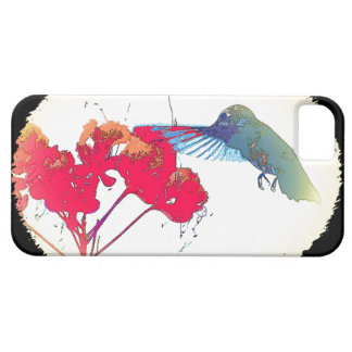 Hummingbird Bird Wildlife Flowers Animal Floral iPhone 5 Cover