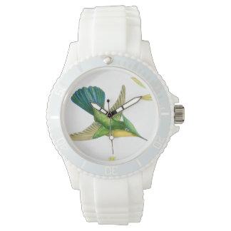 Hummingbird Birds Flowers Wildlife Animals Floral Watches