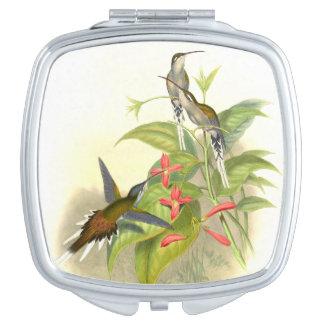 Hummingbird Birds Wildlife Animals Flowers Makeup Mirrors