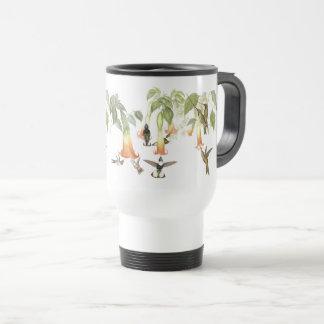 Hummingbird Birds Wildlife Animals Flowers Mug