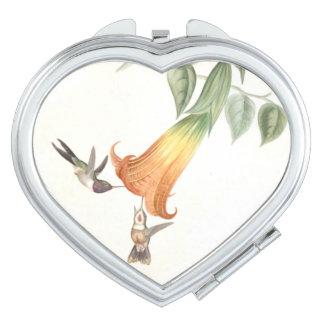 Hummingbird Birds Wildlife Animals Flowers Travel Mirror