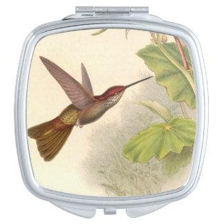 Hummingbird Birds Wildlife Animals Flowers Vanity Mirrors
