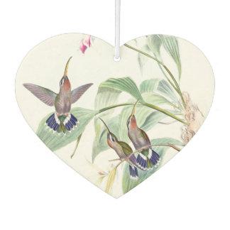 Hummingbird Birds Wildlife Flowers Air Freshener