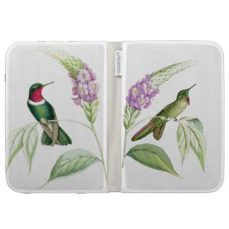 Hummingbird Birds Wildlife Flowers Floral Case For The Kindle