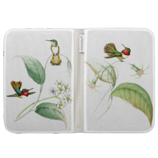 Hummingbird Birds Wildlife Flowers Floral Kindle Keyboard Case