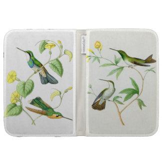 Hummingbird Birds Wildlife Flowers Floral Kindle Keyboard Cases