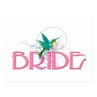 Hummingbird Bride Postcard