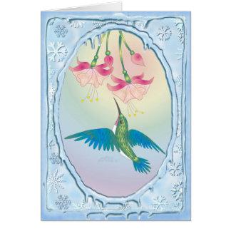 HUMMINGBIRD by SHARON SHARPE Card