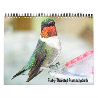 Hummingbird Calendar 2
