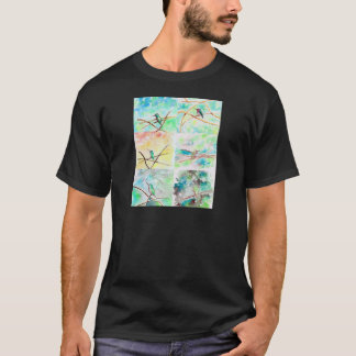 Hummingbird Collection Watercolor T-Shirt