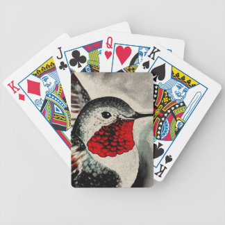 Hummingbird Comic Bicycle Playing Cards