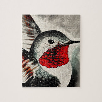 Hummingbird Comic Jigsaw Puzzle