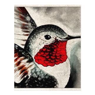 Hummingbird Comic Letterhead