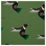 Hummingbird Designer fabric
