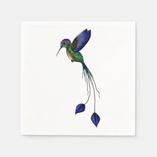 Hummingbird Disposable Napkins