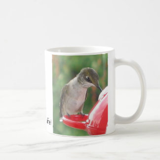 Hummingbird, Drink up life! Coffee Mug