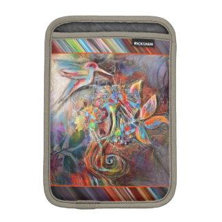 Hummingbird Flight Soft Pastels Art iPad Mini Sleeve
