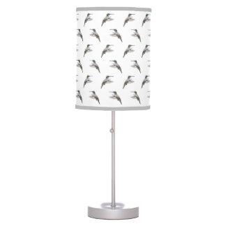Hummingbird Frenzy Lamp (choose colour)