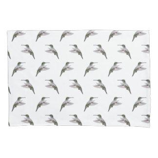 Hummingbird Frenzy Pillowcases (choose colour)