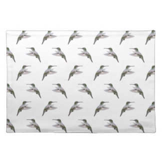 Hummingbird Frenzy Placemat (choose colour)