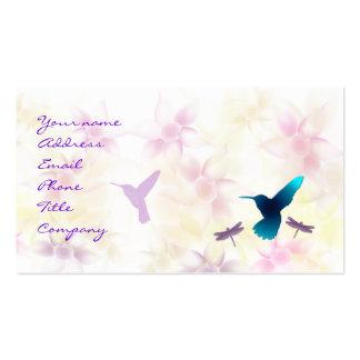 Hummingbird Garden Business Card Template