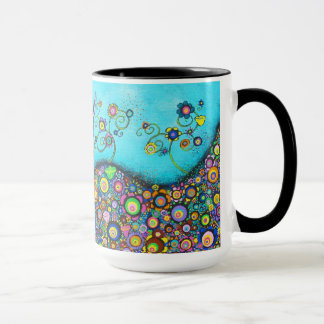 Hummingbird Haven Large 15 oz Mug