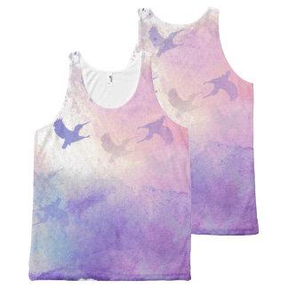 Hummingbird Heaven All-Over-Print Tank Top
