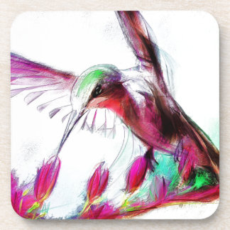 Hummingbird I'm calling you back Coasters