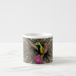 Hummingbird in Flight Espresso Cup