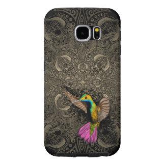 Hummingbird in Flight Samsung Galaxy S6 Cases