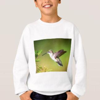 Hummingbird in flight sweatshirt