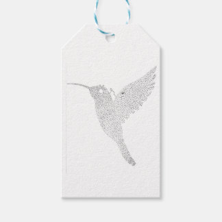 Hummingbird Jamming Out Gift Tags
