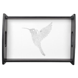 Hummingbird Jamming Out Serving Tray