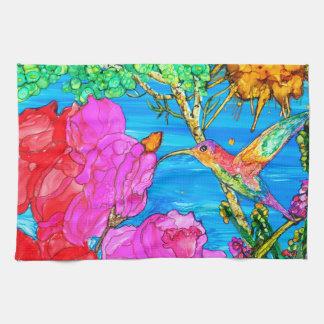 Hummingbird Kitchen Towel (You can Customize)