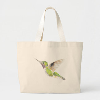 Hummingbird Large Tote Bag