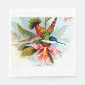 Hummingbird Luncheon Napkins Disposable Napkin